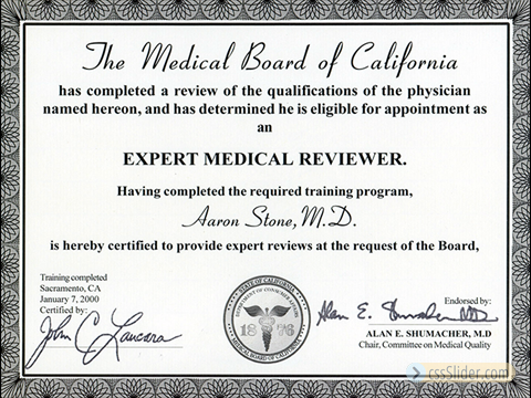 Medical Board of California Reviewer